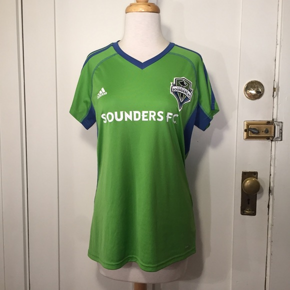 sports shoes 70f91 f4738 Adidas Seattle sounders soccer jersey unisex